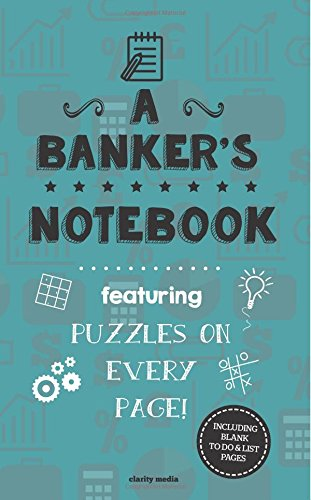 9781517350178: A Banker's Notebook: Featuring 100 puzzles