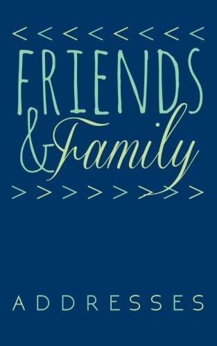 9781517356286 friends family address book l bragonier designs