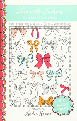 9781517356644: Fun with Fashion: Compact Coloring Book