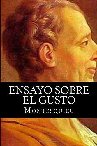 9781517395674: Ensayo sobre el gusto (Spanish Edition)