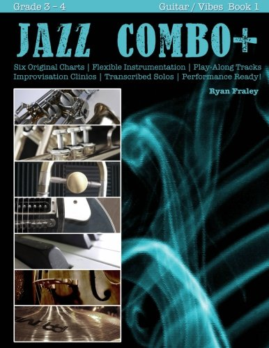 9781517397128: Jazz Combo Plus, Guitar / Vibes Book 1: Flexible Combo Charts | Solo Transcriptions | Play-Along Tracks