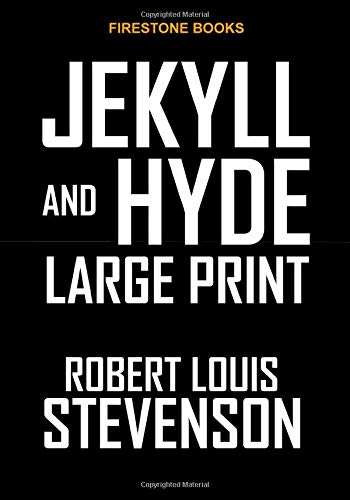 9781517398293: Jekyll and Hyde: Large Print