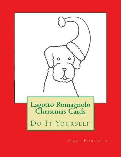 9781517398354: Lagotto Romagnolo Christmas Cards: Do It Yourself