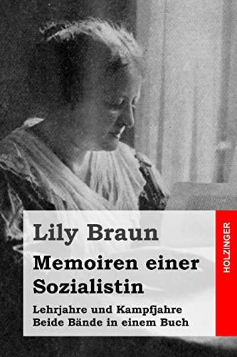9781517429652: Memoiren einer Sozialistin: Lehrjahre und Kampfjahre. Beide Bände in einem Buch (German Edition)