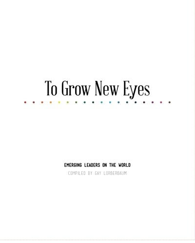 9781517452148: To Grow New Eyes: Emerging Leaders on the World