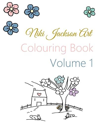 9781517476373: Niki Jackson Art Colouring Book: Volume 1