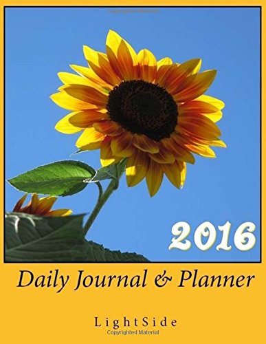 9781517489397: 2016 Daily Journal & Planner (Sunflower)