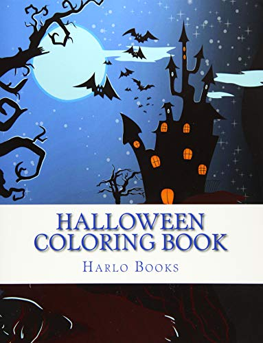 9781517495008: Halloween Coloring for Relaxation Vol. 1: Coloring for Stress Relivief: Volume 1
