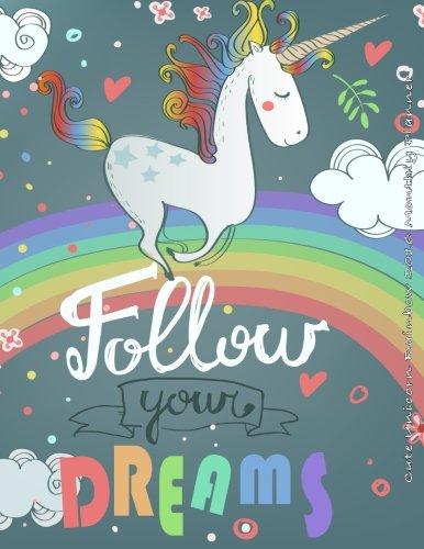 9781517496340: Cute Unicorn Rainbow 2016 Monthly Planner