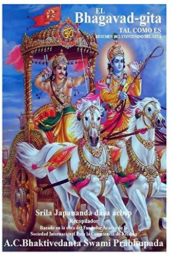 9781517507084: Bhagavad Gita: Resumen del Gita (Bhagavad Gita Tal Como Es) (Spanish Edition)