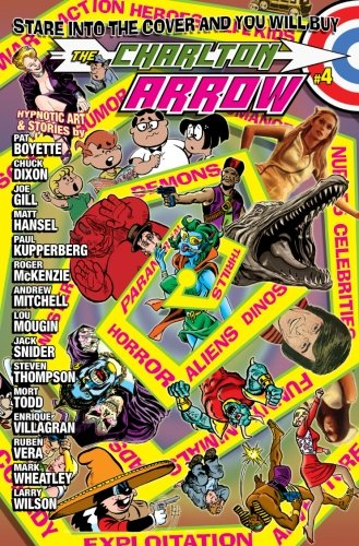 9781517510930: The Charlton Arrow #4: A Tribute to Charlton Comics (Volume 1)