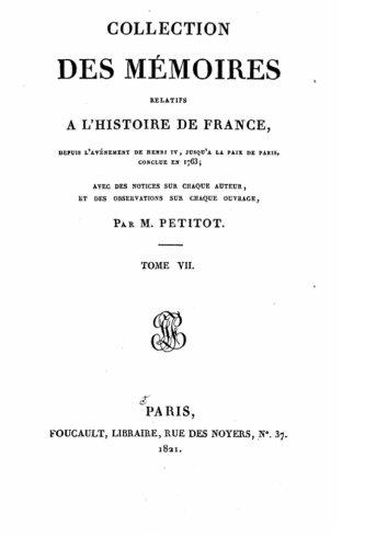 9781517552640: Collection des mémoires relatifs à l'histoire de France depuis l'avénement de Henri IV jusqu'à la paix de Paris conclue en 1763 (French Edition)