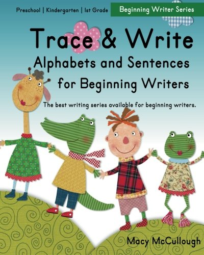 9781517561895: Trace and Write Alphabets and Sentences for Beginning Writers