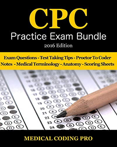 9781517568702 Medical Coding Cpc Practice Exam Bundle 2016 Icd 10
