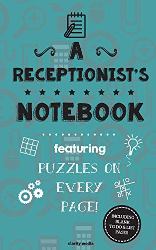 9781517569365: A Receptionist's Notebook: Featuring 100 puzzles