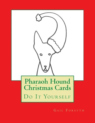 9781517574642: Pharaoh Hound Christmas Cards: Do It Yourself