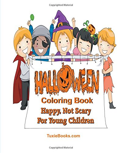 9781517584115: Halloween Coloring Book for Children: Happy Not Scary For Young Children