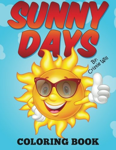 9781517589080: Sunny Days: Coloring Book