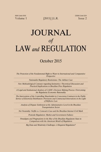 Journal of Law and Regulation / Revista: Carlos Bernal Pulido,