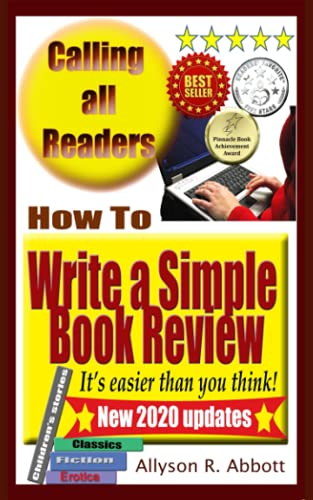 9781517591748: How To Write a Simple Book Review: It's easier than you think!