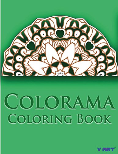 9781517595814: Colorama Coloring Book: Relaxation & Stress Relieving Patterns (Volume 8)