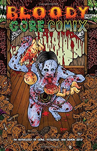 9781517619121: Bloody Gore Comix