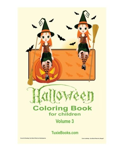 9781517620059: Halloween Coloring Book for Children - Volume 3