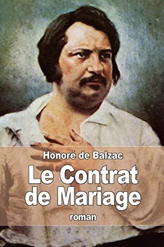 9781517623876: Le Contrat de Mariage