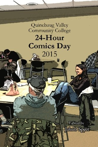 9781517630027: Quinebaug Valley Community College 24-Hour Comics Day 2015