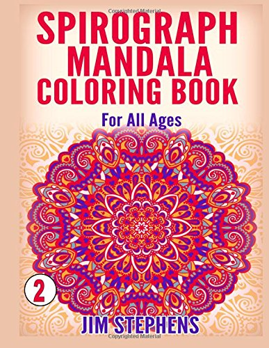 9781517634698: Spirograph Mandala Coloring Book: For All Ages