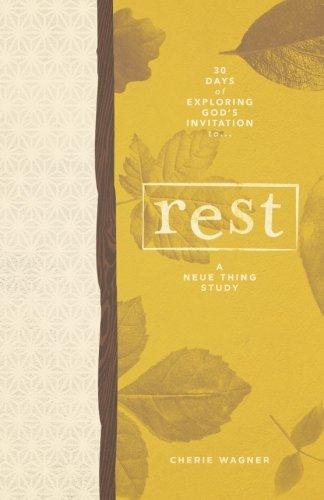 9781517644949: Rest: 30 Days of Exploring God's Invitation to Rest