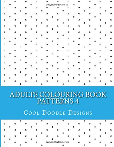 9781517645021: Adults Colouring Book: Patterns 4