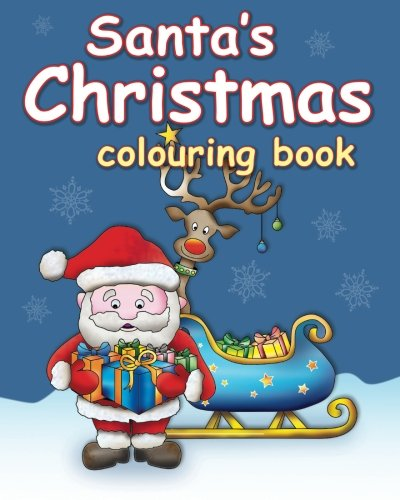 9781517647414: Santa's Christmas colouring book