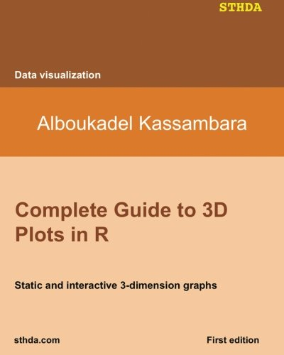 9781517651596: Complete Guide to 3D Plots in R: Static and interactive 3-dimension graphs