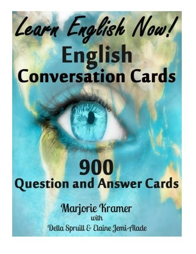 9781517653880: Learn English Now!: Conversation Cards! 900 Question and Answer Cards