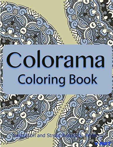 9781517671891: Colorama Coloring Book: Relaxation & Stress Relieving Patterns