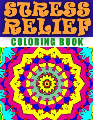 9781517671921: STRESS RELIEF COLORING BOOK - Vol.2: adult coloring book stress relieving patterns (Volume 2)