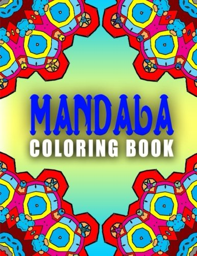 9781517675585: MANDALA COLORING BOOKS - Vol.5: mandala coloring books for adults relaxation