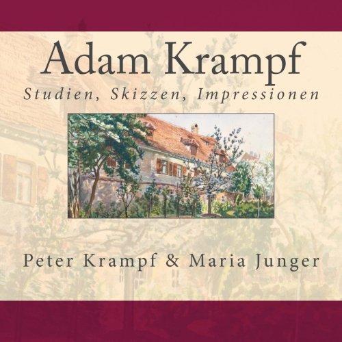 9781517676971: Adam Krampf: Studien, Skizzen, Impressionen