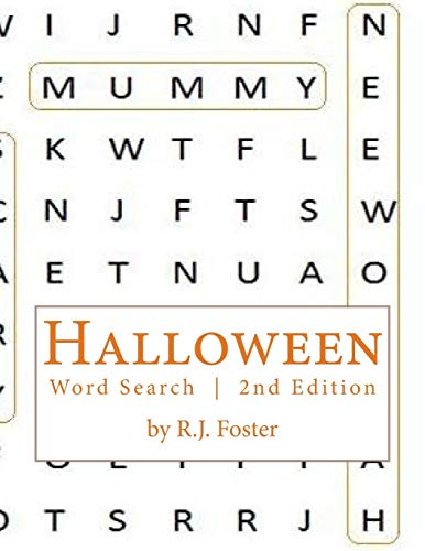 9781517685119: Halloween: Word Search (2nd Edition)