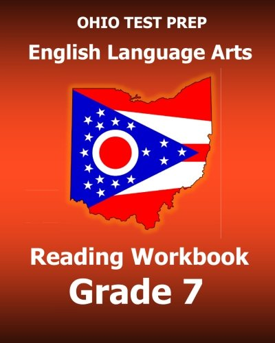 9781517692162: OHIO TEST PREP English Language Arts Reading Workbook Grade 7: Covers the Literature and Informational Text Reading Standards