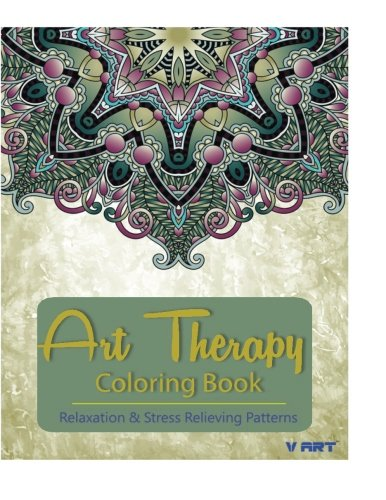 9781517693060: Art Therapy Coloring Book: Art Therapy Coloring Books for Adults : Stress Relieving Patterns: Volume 8