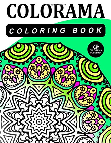 9781517696252: COLORAMA Coloring Book: colorama coloring book for adults: Volume 20