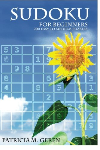 9781517711344: Sudoku for beginners : 200 easy to medium puzzles