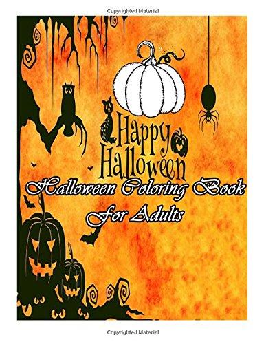 Halloween Coloring Book: For Adults: Sori, Nana