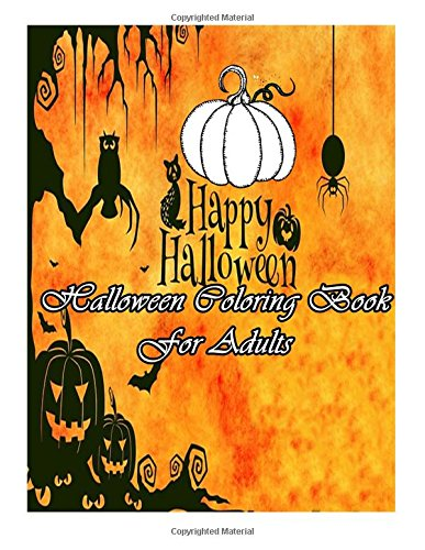 9781517715267: Halloween Coloring Book: For Adults