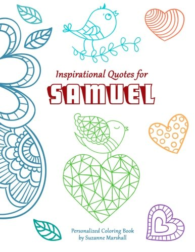 9781517718787: Inspirational Quotes for Samuel: Personalized Coloring Book with Inspirational Quotes for Kids (Personalized Books)