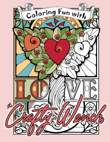 9781517725471: Coloring Fun with the Crafty Wench: A Coloring Book for Grownups