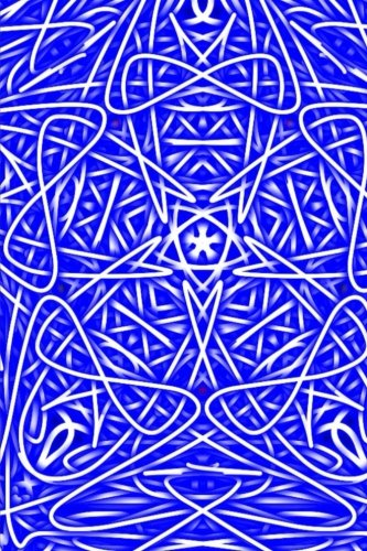 9781517734305: Royal Blue Mandala: thoughts, ideas, and inspiration