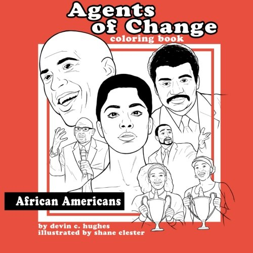 9781517759445: Agents of Change - African Americans Coloring Book (Volume 1)